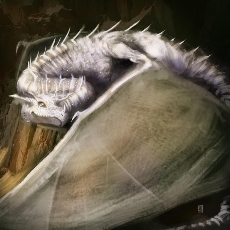 Dragon series - White Dragon